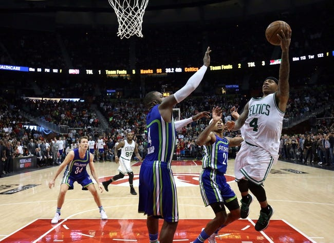 Boston Celtics center Al Horford scraps with Dwight Howard