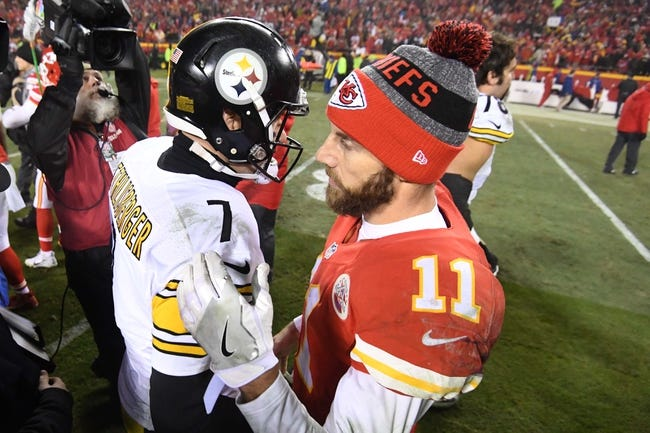 Kansas City Chiefs vs. Pittsburgh Steelers - 10/15/17 NFL Pick, Odds, and Prediction