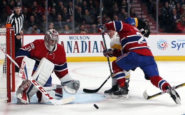 Montreal Canadiens vs. Pittsburgh Penguins - 3/15/18 NHL Pick, Odds, and Prediction