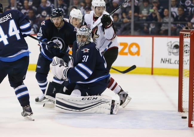 Arizona Coyotes vs. Winnipeg Jets - 11/11/17 NHL Pick, Odds, and Prediction