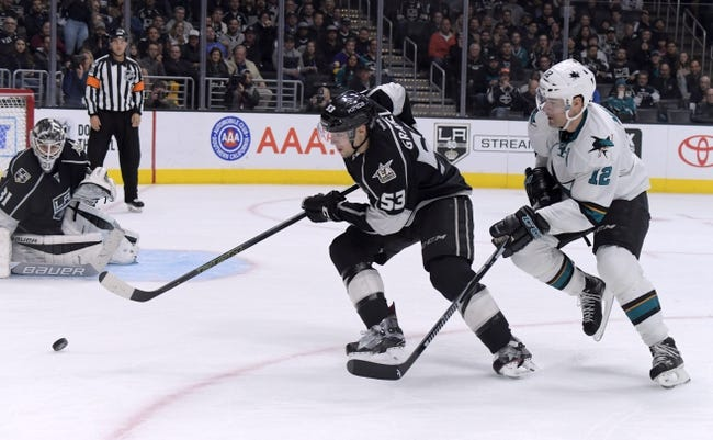 San Jose Sharks vs. Los Angeles Kings - 10/7/17 NHL Pick, Odds, and Prediction