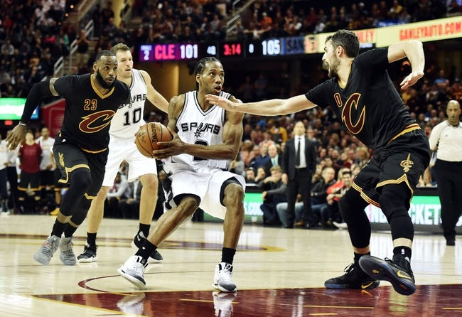 Spurs face East's best in LeBron, Cavs on Monday night