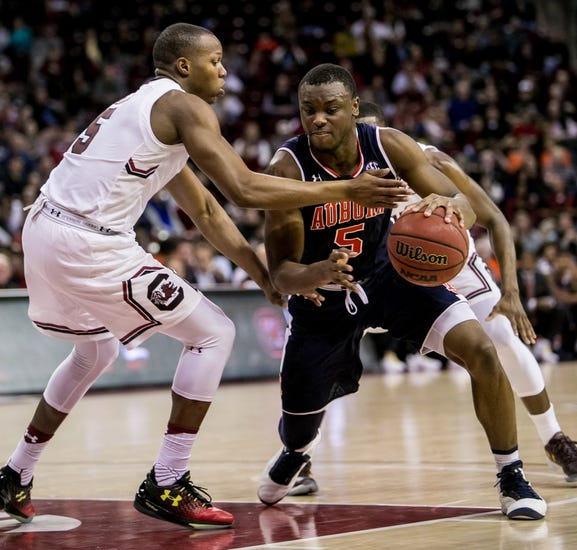 South Carolina vs. Auburn - 2/17/18 College Basketball Pick, Odds, and Prediction