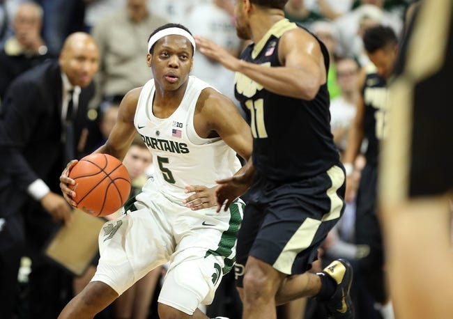 Michigan State hopes to avenge earlier loss to No. 16 Purdue