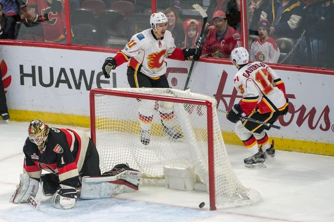 Calgary Flames vs. Ottawa Senators - 10/13/17 NHL Pick, Odds, and Prediction