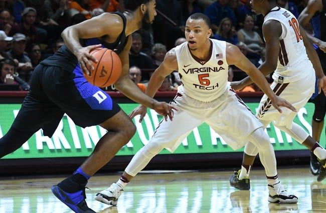 Duke vs. Virginia Tech - 2/14/18 College Basketball Pick, Odds, and Prediction