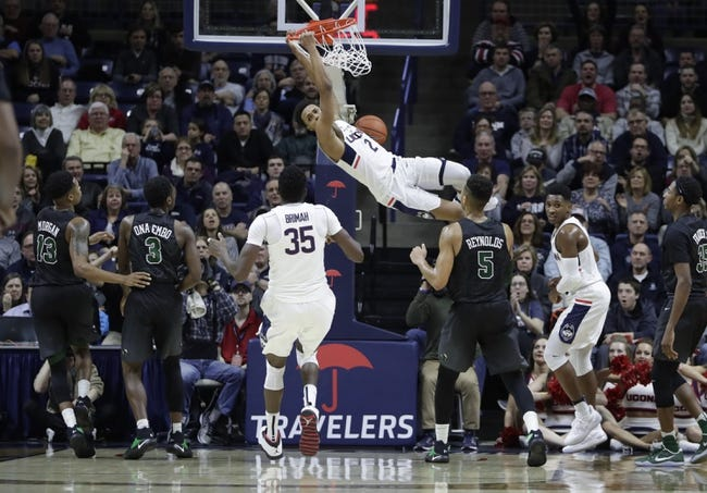 Tulane vs. Connecticut - 1/13/18 College Basketball Pick, Odds, and Prediction