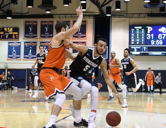 Pepperdine vs. Gonzaga - 1/4/18 College Basketball Pick, Odds, and Prediction