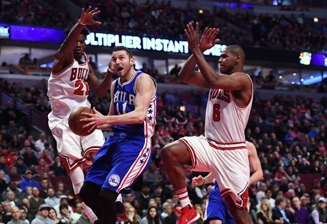 Rookies Dario Saric, Shawn Long shine as Sixers defeat struggling Bulls