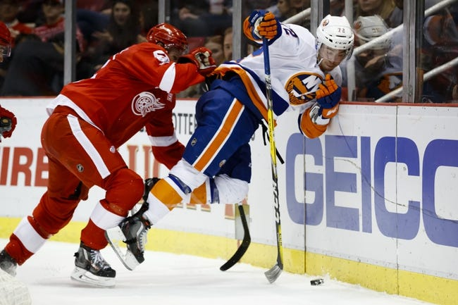 New York Islanders vs. Detroit Red Wings - 2/9/18 NHL Pick, Odds, and Prediction