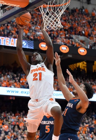 Virginia vs. Syracuse - 1/9/18 College Basketball Pick, Odds, and Prediction