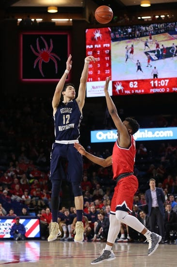 George Washington vs. Richmond - 2/21/18 College Basketball Pick, Odds, and Prediction