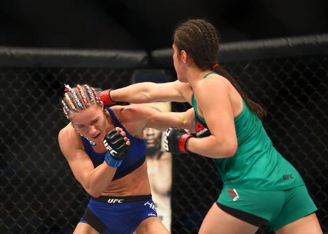Randa Markos vs. Alexa Grasso UFC Pick, Preview, Odds, Prediction - 8/5/17