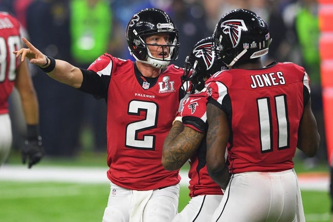 Atlanta Falcons 2017 NFL Preview, Schedule, Prediction, Depth Chart