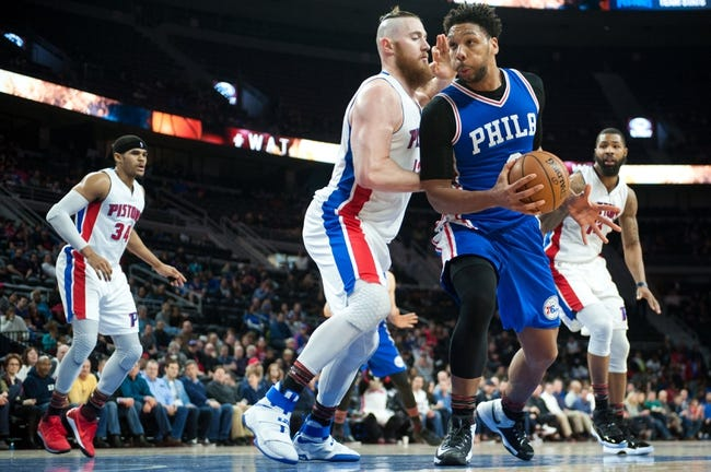 Pistons set season high for points in 136-106 rout of 76ers