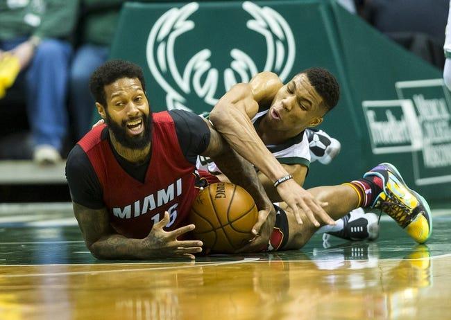 Miami Heat vs. Milwaukee Bucks - 1/14/18 NBA Pick, Odds, and Prediction