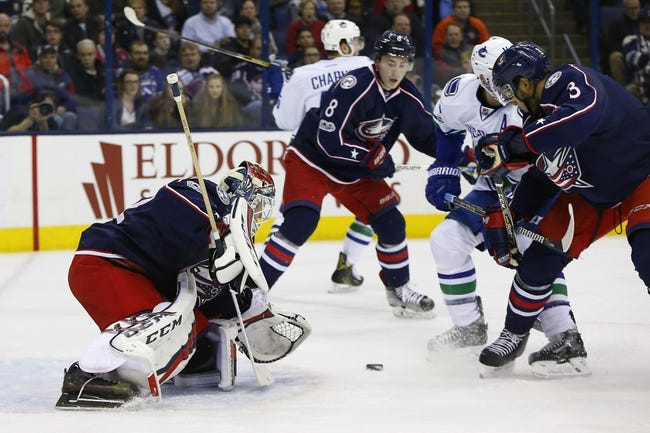 Columbus Blue Jackets vs. Vancouver Canucks - 1/12/18 NHL Pick, Odds, and Prediction
