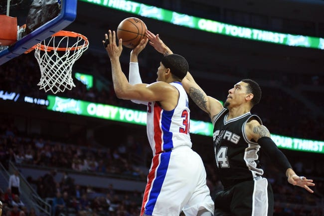 San Antonio Spurs vs. Detroit Pistons - 12/4/17 NBA Pick, Odds, and Prediction