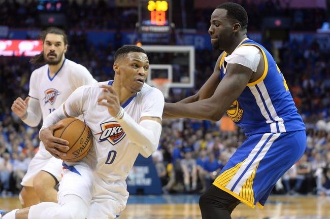 Steph Curry, Russell Westbrook fight as showdown gets ugly