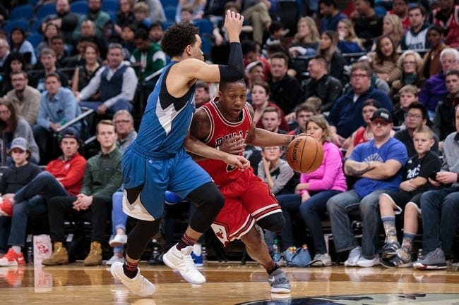 Chicago Bulls vs. Minnesota Timberwolves - 2/9/18 NBA Pick, Odds, and Prediction