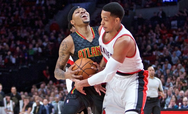 Hawks sit Paul Millsap; Evan Turner returns for Trail Blazers