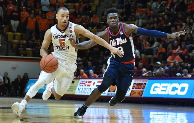 Mississippi vs. Virginia Tech - 12/2/17 College Basketball Pick, Odds, and Prediction