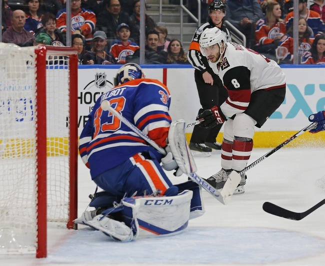 Edmonton Oilers vs. Arizona Coyotes - 11/28/17 NHL Pick, Odds, and Prediction