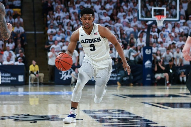 Utah State vs. San Jose State - 12/27/17 College Basketball Pick, Odds, and Prediction