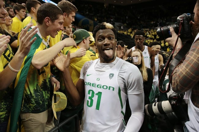 Oregon vs. Colorado - 12/31/17 College Basketball Pick, Odds, and Prediction
