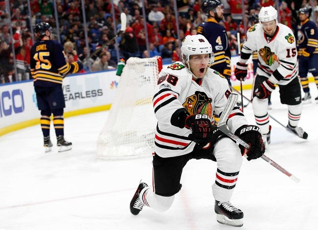 Chicago Blackhawks vs. Buffalo Sabres - 12/8/17 NHL Pick, Odds, and Prediction
