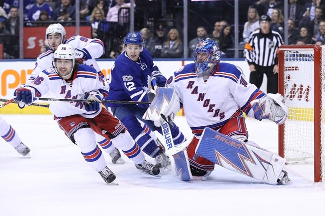 Toronto Maple Leafs vs. New York Rangers - 10/7/17 NHL Pick, Odds, and Prediction