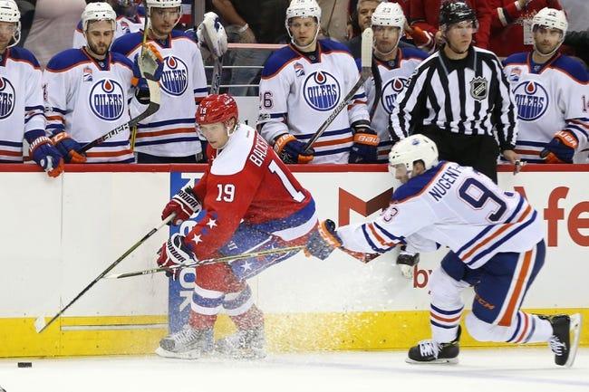 NHL   Washington Capitals (4-5-1) at Edmonton Oilers (3-5-1)