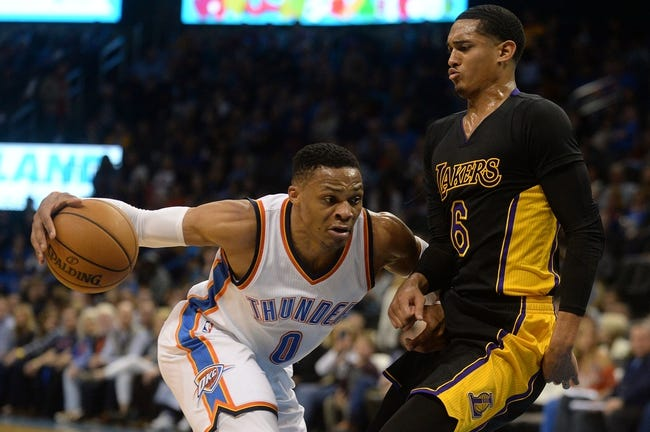 Los Angeles Lakers vs. Oklahoma City Thunder - 1/3/18 NBA Pick, Odds, and Prediction