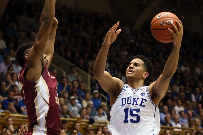 Duke vs. Florida State - 12/30/17 College Basketball Pick, Odds, and Prediction