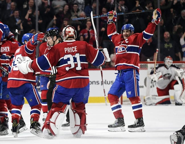 Montreal Canadiens vs. Columbus Blue Jackets - 11/14/17 NHL Pick, Odds, and Prediction