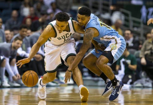 Milwaukee Bucks vs. Denver Nuggets - 2/15/18 NBA Pick, Odds, and Prediction