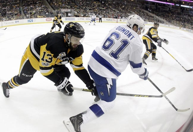 Tampa Bay Lightning vs. Pittsburgh Penguins - 10/12/17 NHL Pick, Odds, and Prediction