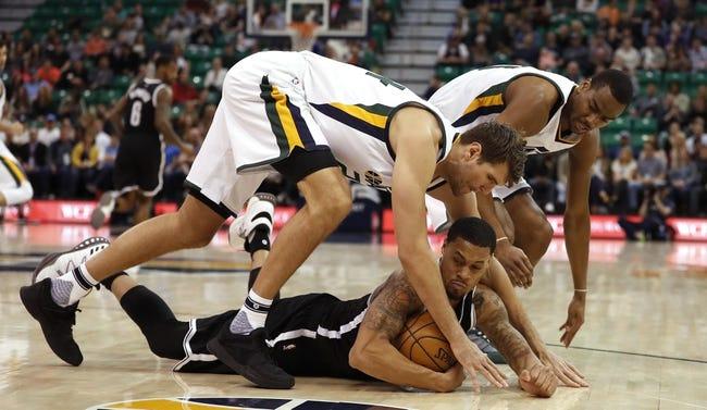 Utah Jazz vs. Brooklyn Nets - 11/11/17 NBA Pick, Odds, and Prediction