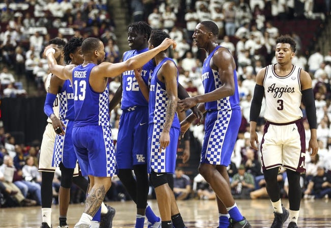 Kentucky vs. Texas A&M - 1/9/18 College Basketball Pick, Odds, and Prediction