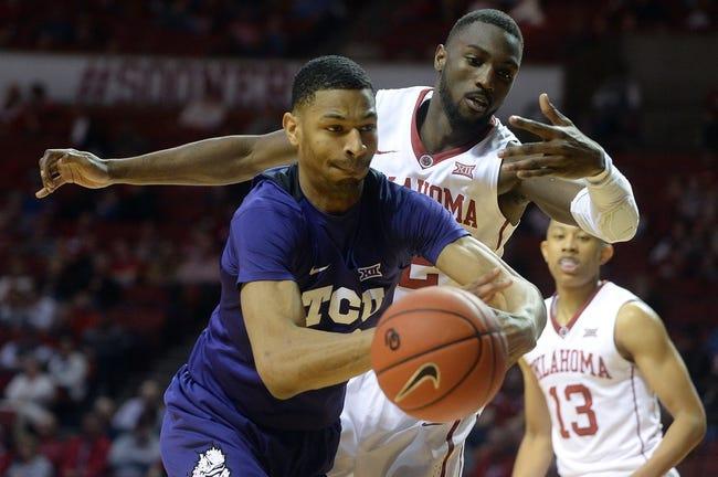 TCU vs. Oklahoma - 12/30/17 College Basketball Pick, Odds, and Prediction