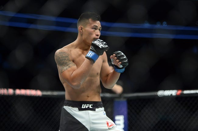 Alejandro Perez vs. Andre Soukhamthath UFC Pick, Preview, Odds, Prediction - 8/5/17