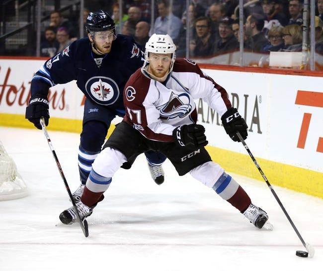 Colorado Avalanche vs. Winnipeg Jets - 11/29/17 NHL Pick, Odds, and Prediction