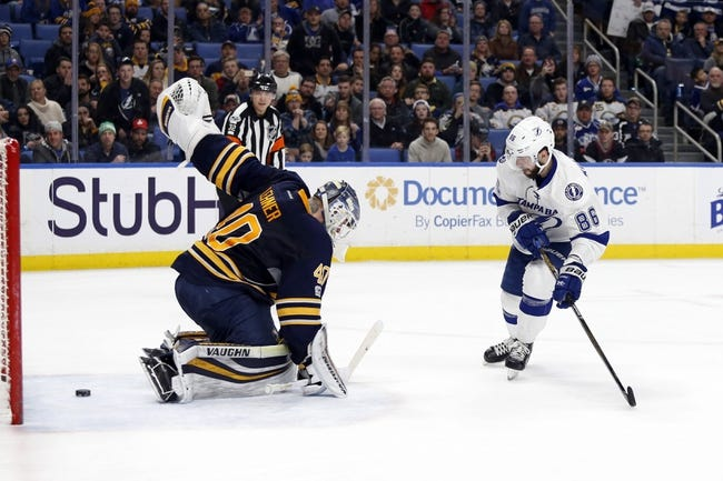 Buffalo Sabres vs. Tampa Bay Lightning - 11/28/17 NHL Pick, Odds, and Prediction