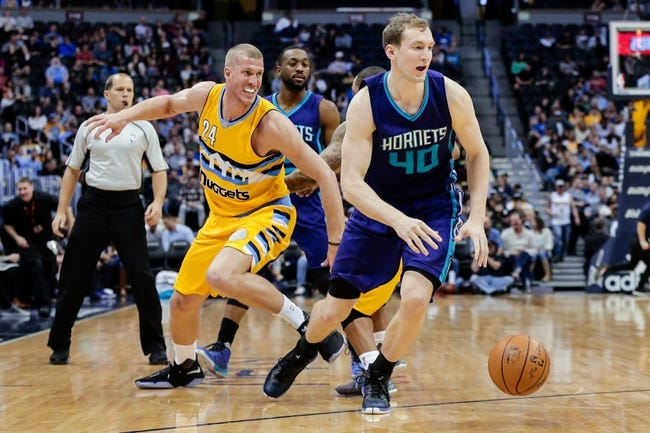 Hornets make 17 3-pointers in 122-114 win over Nuggets