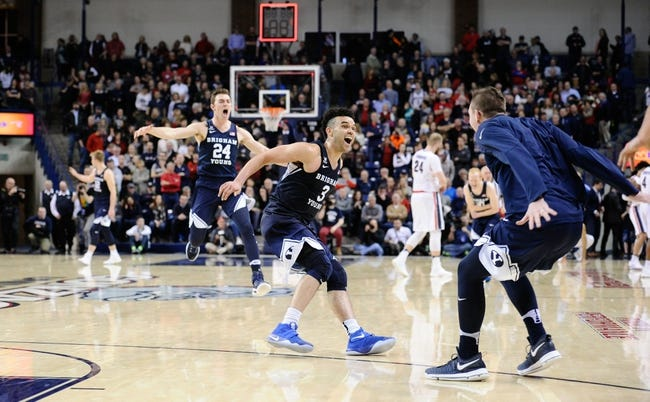NCAA BB | BYU Cougars (18-6) at Gonzaga Bulldogs (20-4)