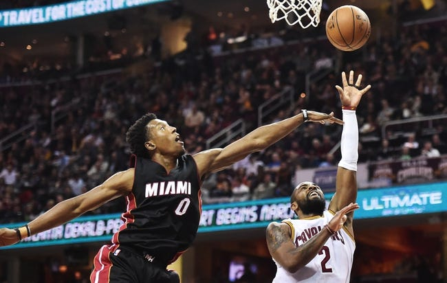 Miami Heat vs. Cleveland Cavaliers- 4/10/17 NBA Pick Odds and Prediction