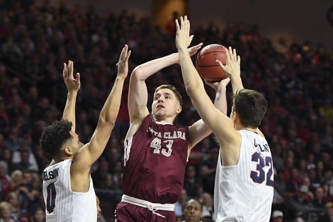Santa Clara vs. Northern Arizona - 11/30/17 College Basketball Pick, Odds, and Prediction