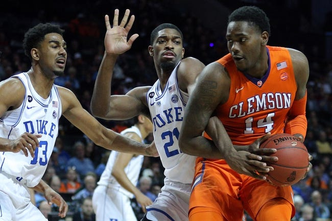 Clemson vs. Duke - 2/18/18 College Basketball Pick, Odds, and Prediction