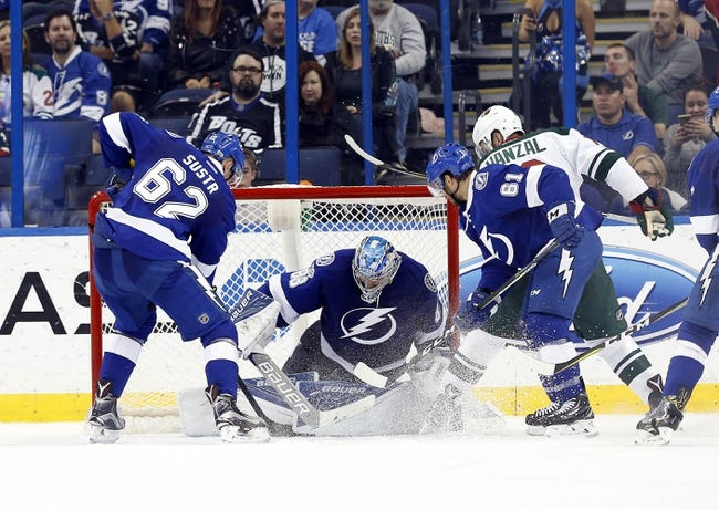 Tampa Bay Lightning vs. Minnesota Wild - 12/23/17 NHL Pick, Odds, and Prediction