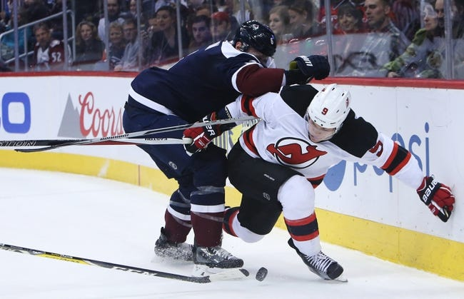 Colorado Avalanche vs. New Jersey Devils - 12/1/17 NHL Pick, Odds, and Prediction